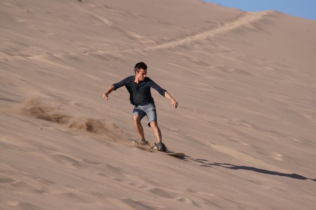 Atacama Sandboarding
