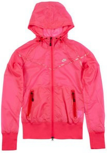 pink windbreaker womens
