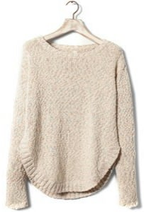 pull bear beige sweater