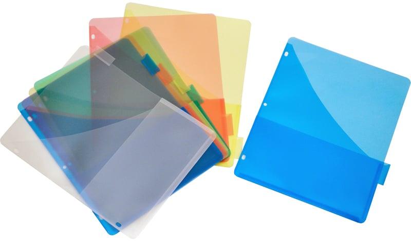 Plastic binder