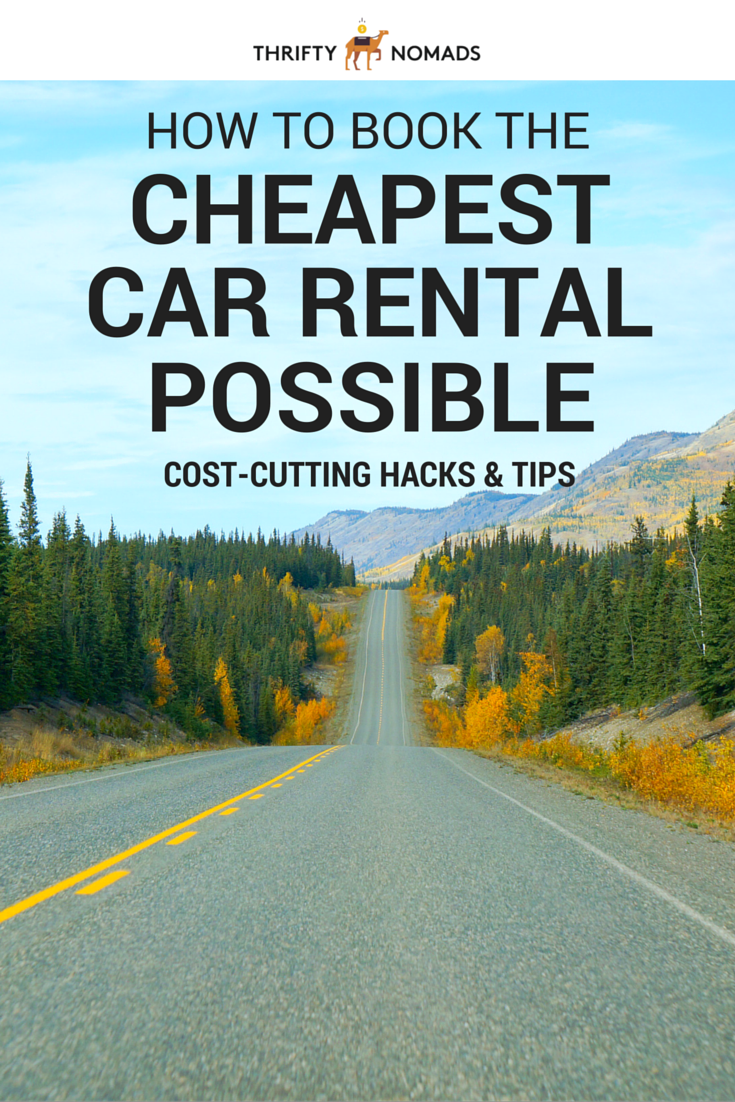 Avoid fees, stop overpaying, and grab the best rate every time. Here\'s how to book the cheapest car rental possible. #budgettravel #roadtrip #cheaptravel #carrental
