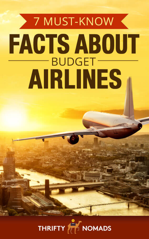 Are budget airlines safe? And are they ACTUALLY cheaper after taxes & fees? Here\'s 7 facts you should know. #budgettravel #budgetairlines