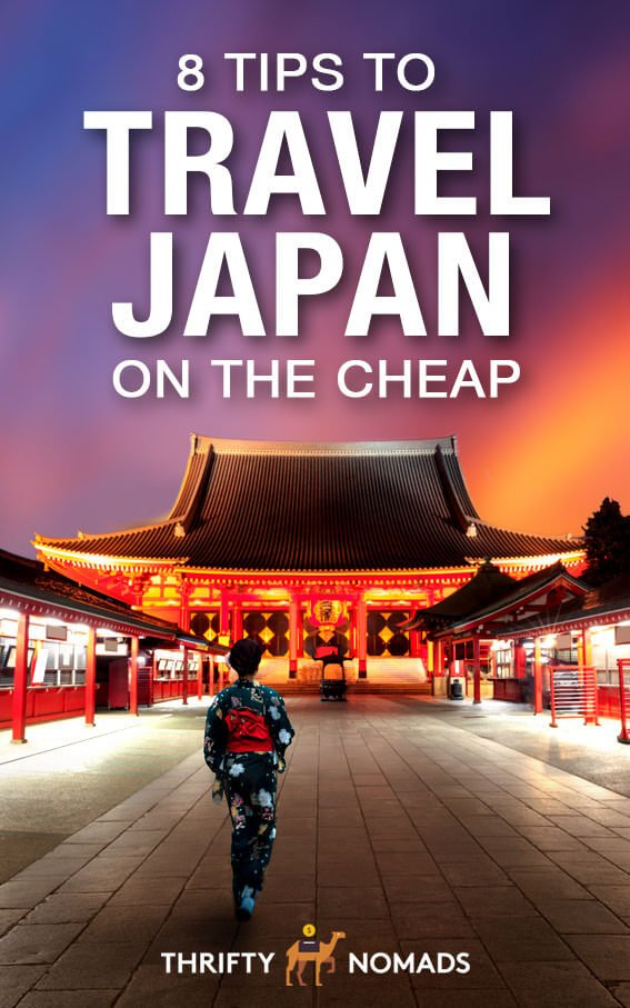 Japan doesn\'t have to be as pricey as you think. Here\'s 8 expert tips to visiting here on the cheap! #japantravel #japancheap #japantips #japanbudget