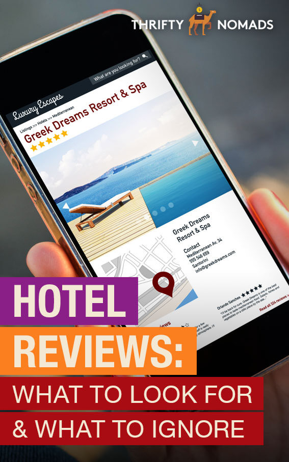 Hotel reviews can be deceiving & sometimes can cause you to not make a booking. Here\'s what to look for when reading reviews & comments. #travelplanning #travelinspiration #budgettravel