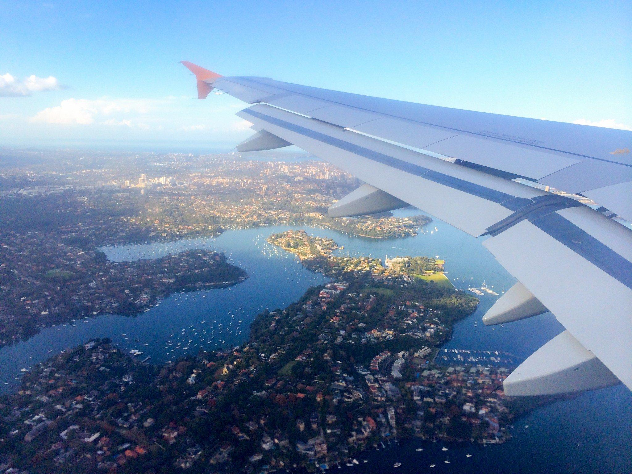 Sydney plane