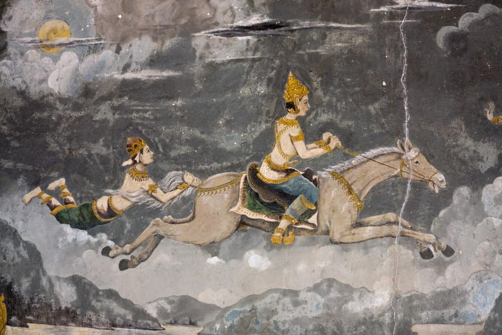 Ancient artwork in Doi Suthep