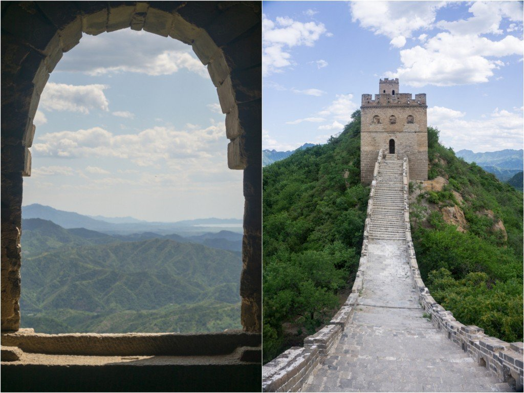GreatWallJinshanlingwindow