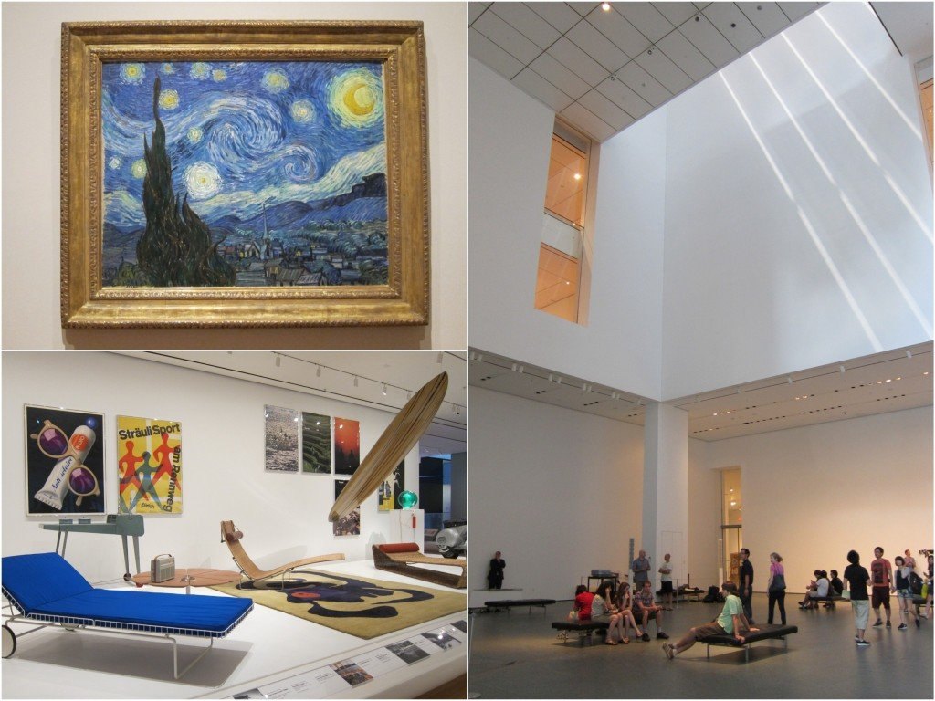 The Museum of Modern Art (MOMA) is free Fridays 4-8PM (I highly recommend visiting, it's one of my favourite museums anywhere!)