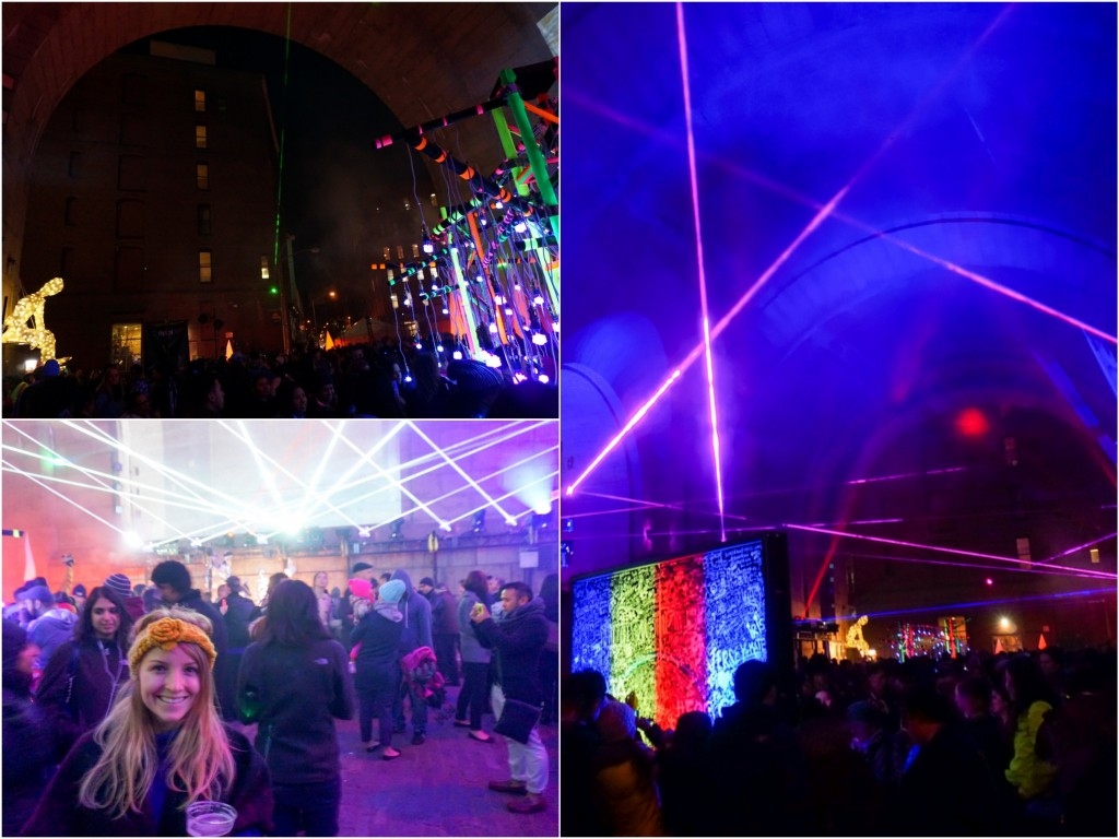 Brooklyn Bridge party – free & lots of fun :)