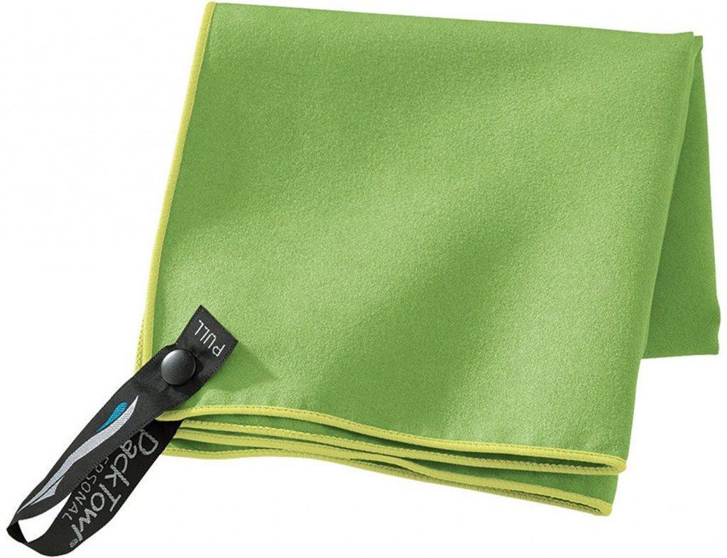PackTowl fast try towel