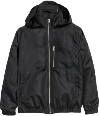 HM jacket mens black