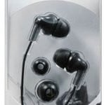 Panasonic earphones black