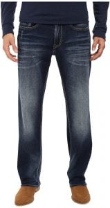 Buffalo David Bitton Driven Straight Leg Jeans in Contrast Vintage