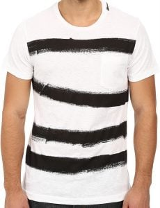 French Connection Anarchy Stripe Tee