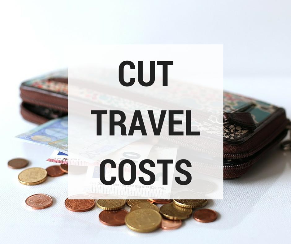 cut travel costs