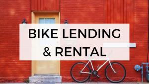 Bike lending & rental
