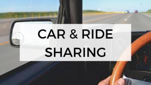 Car & ride sharing