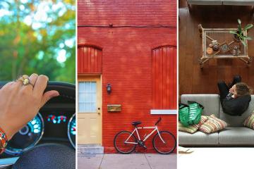 sharing economy collage
