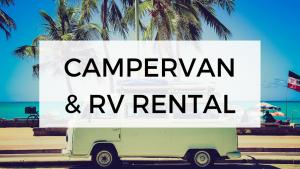 Campervan RV rentals