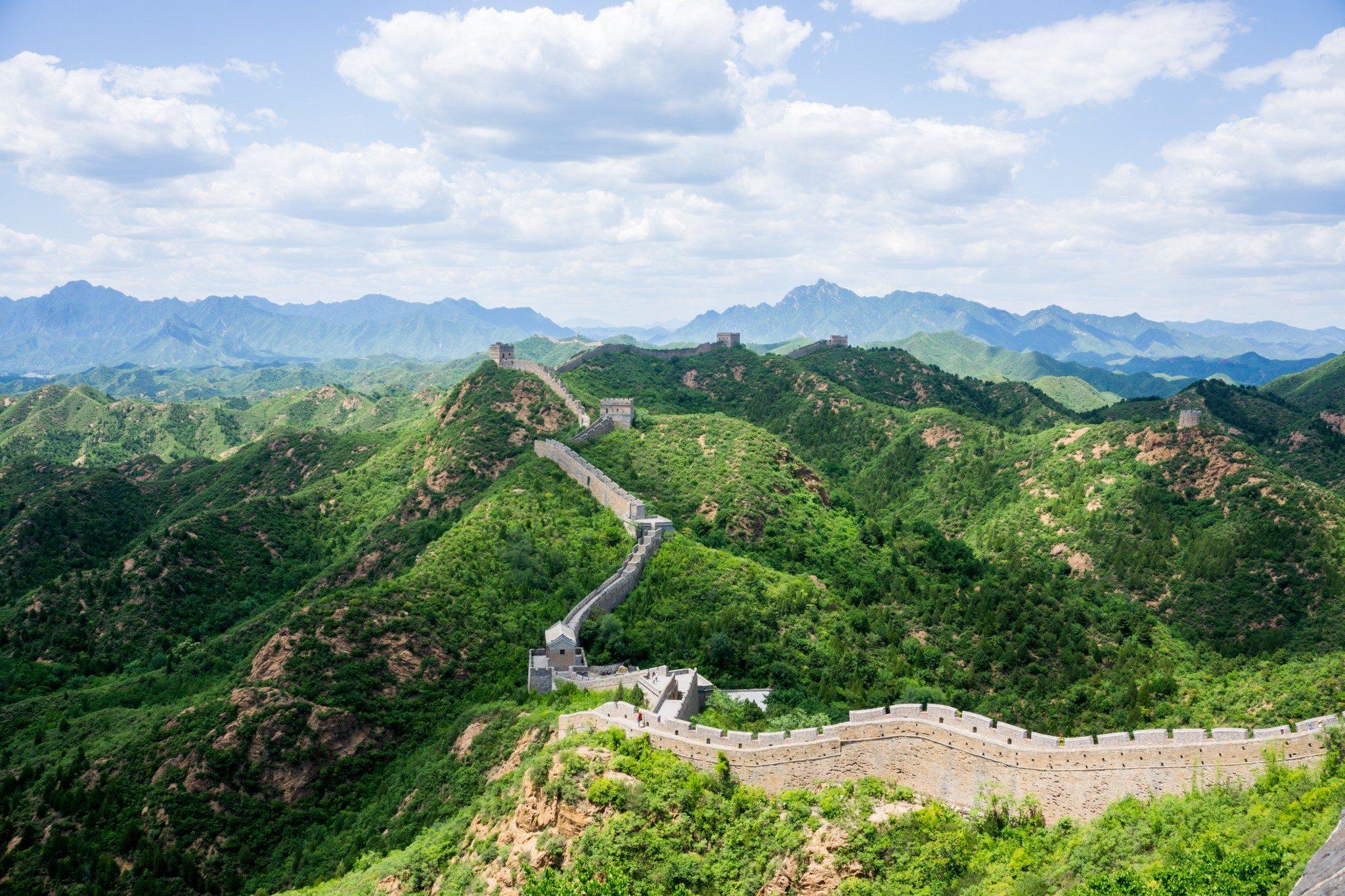 The Great Wall of China –Jinshanling
