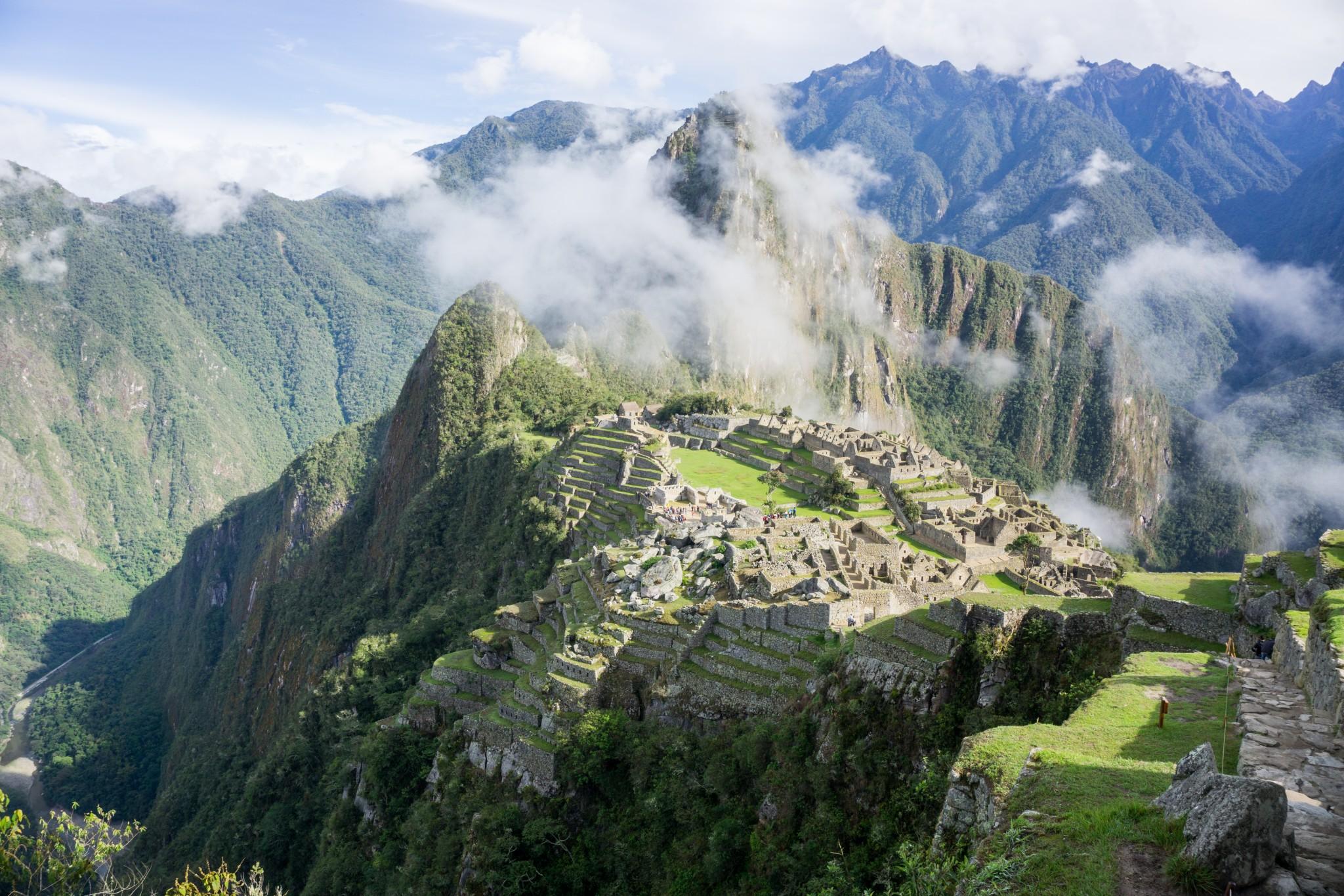 Machu Picchu view guard tower