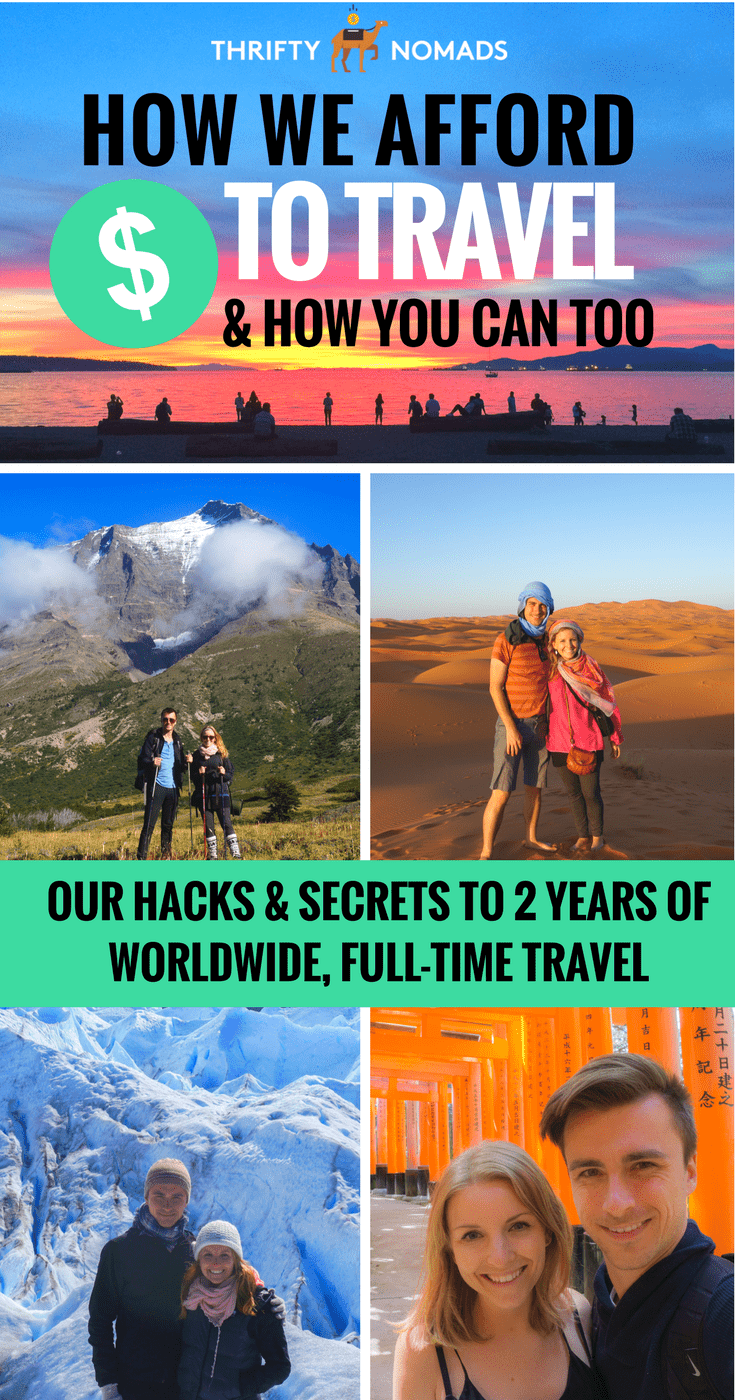 After 5+ years of travel and 2 years of nomadic living, we reveal our secrets to how we did it, and how YOU can too! #travelinspiration #budgettravel #cheaptravel #nomad