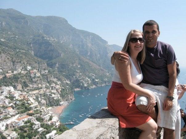 Jessica & Adriano in Amalfi Coast, Greece