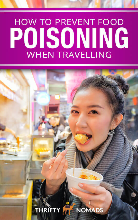 How to eat like a local when you travel & prevent food poisoning anywhere you go. #traveltips #travelfood #travelplanning