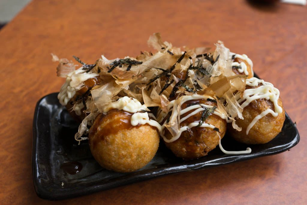 Takoyaki cheap street food