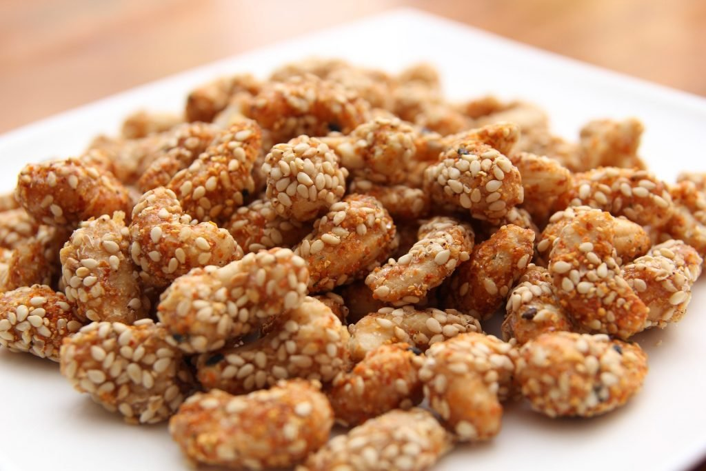 candied nuts cheap street food
