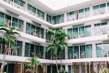 hotel scene