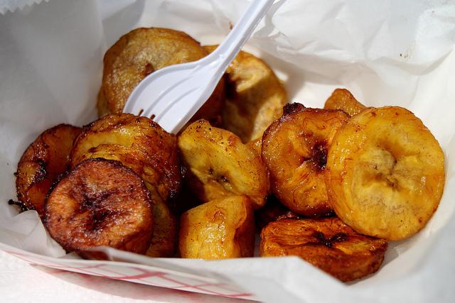 plantain cheap street food