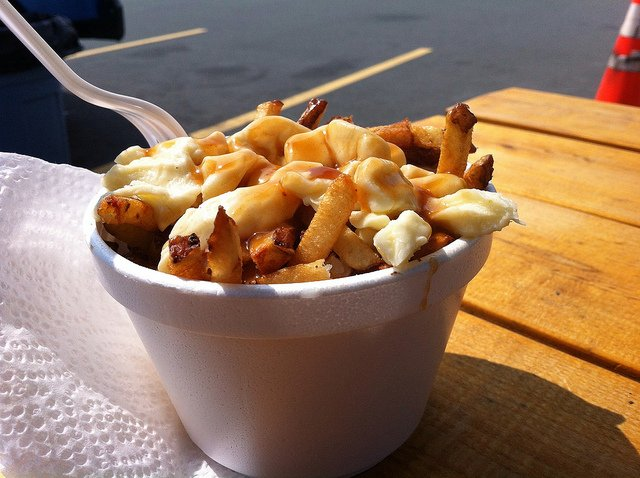 poutine cheap street food