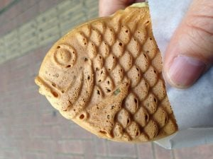 taiyaki cheap street food