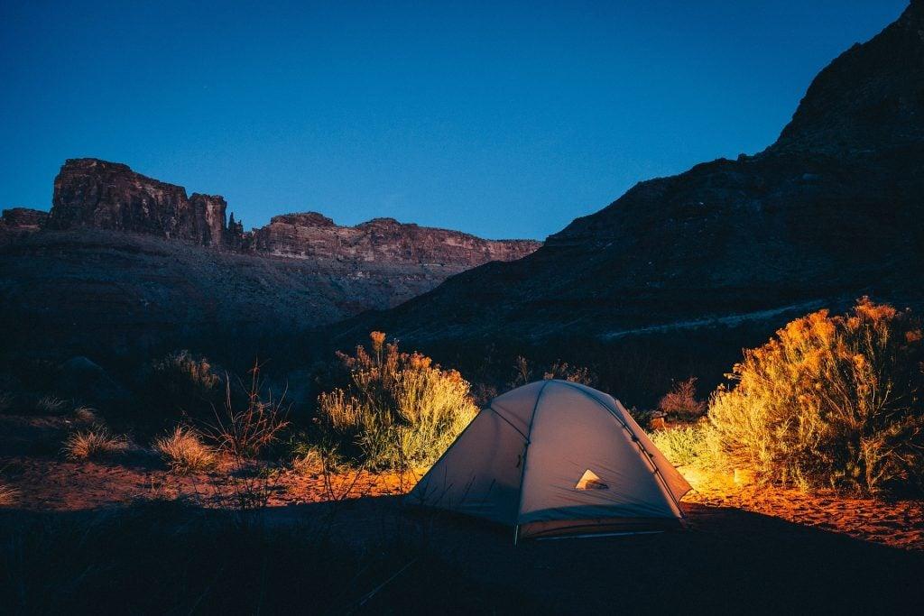 tenting