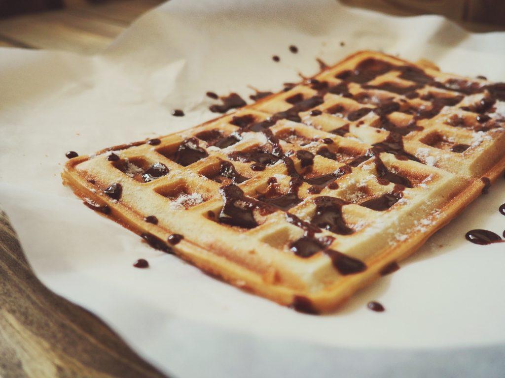 waffle cheap street food