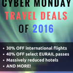 The BEST Cyber Monday travel deals of 2016