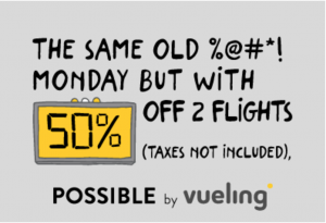 Vueling Cyber Monday