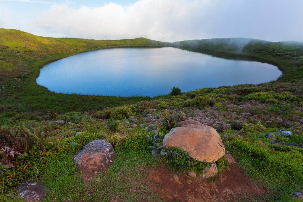 Laguna El Junco San Cristobal