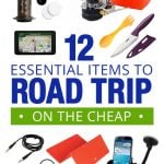 12 Essential Items to Road Trip