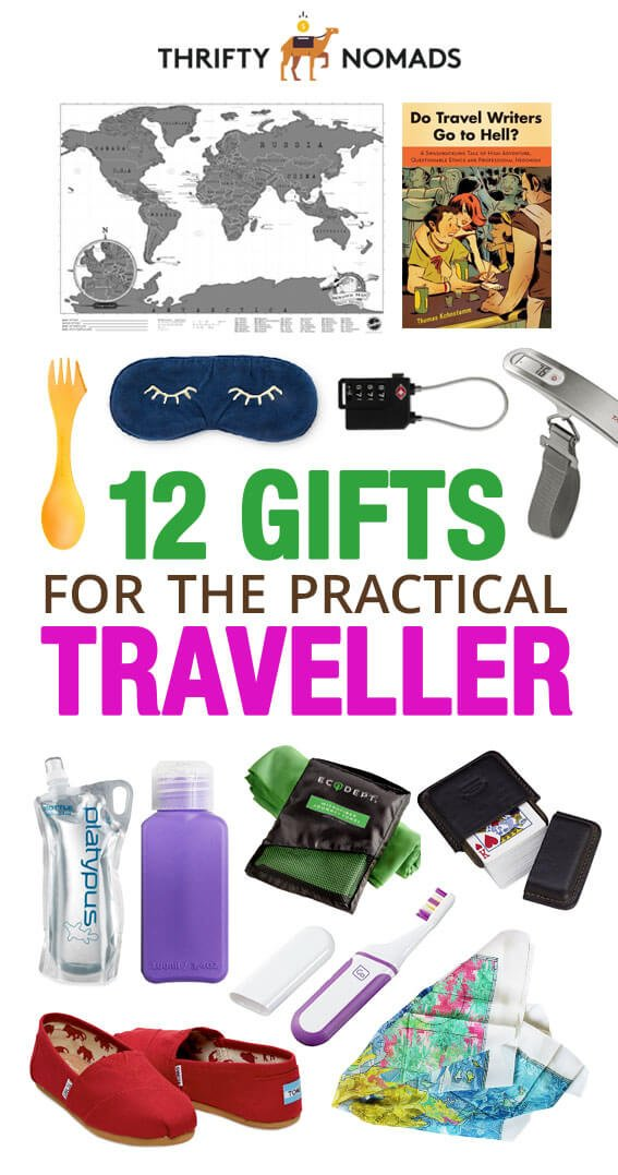 Finding a useful gift for the traveller in your life can be daunting. Here\'s 12 gifts that won\'t break the bank & are actually practical! #budgettravel #travelgifts #travelpresents #travelinspiration