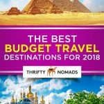 The Best Budget Travel Destinations for 2018