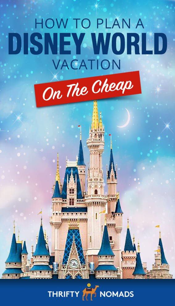 A trip to Disney World doesn\'t HAVE to be pricey. Here\'s our expert guide to visiting Disney affordably! #disneyworld #disneyworldcheap #disneyworldbudget #disneyworldplan