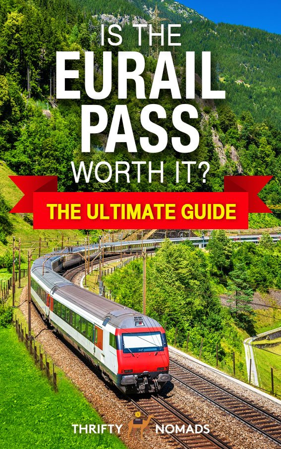 Will the Eurail save money on your trip? Here\'s our breakdown to calculate when the Eurail pass will save money, and when it\'s just unnecessary. #eurailpass #eurailpassworthit #cheapeurope #europetravel