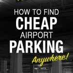 How to Find Cheap Airport Parking Anywhere