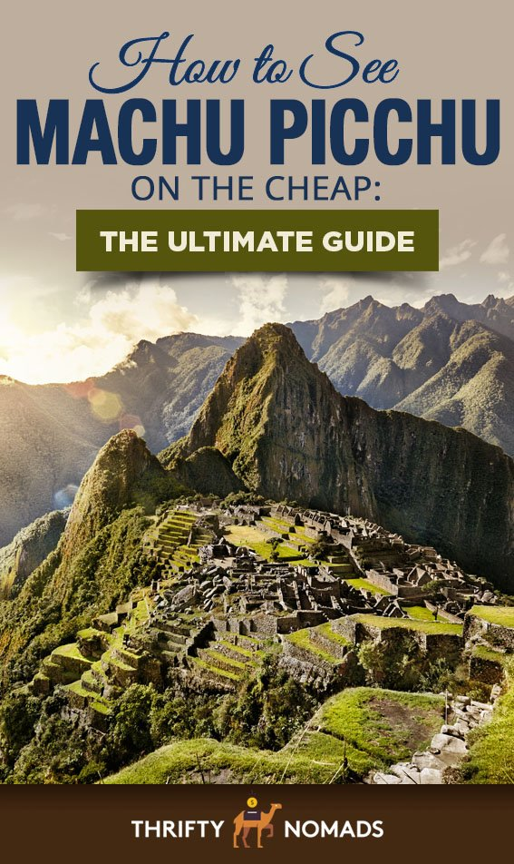 Machu Picchu can be done for MUCH cheaper than most people realize. Here\'s our expert guide to visiting here affordably! #machupicchu #machupicchucheap #perucheap #machupicchutravel