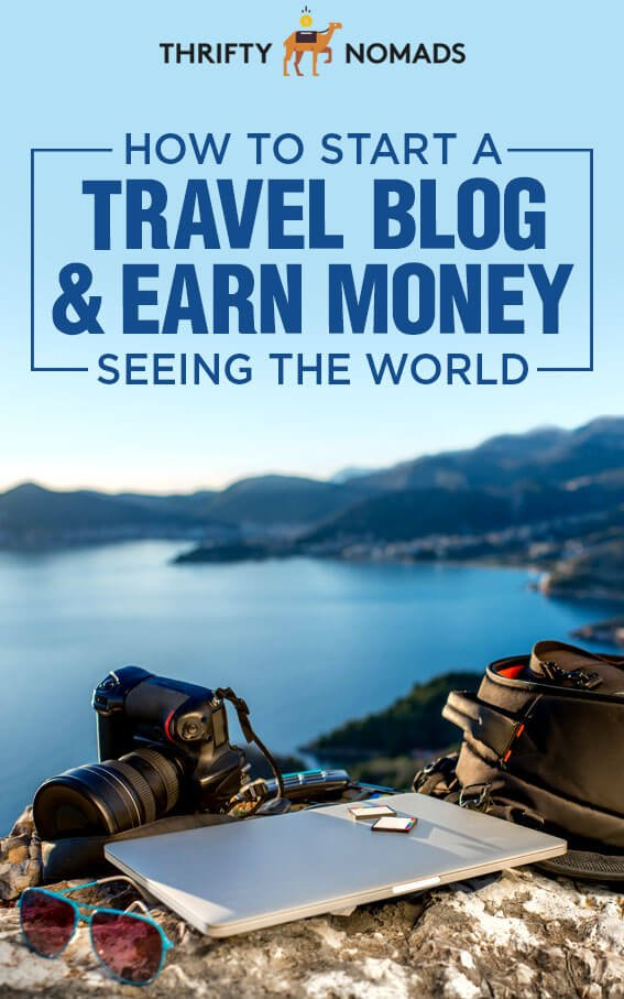 A travel blog is a dream job for many, and isn't that hard to start. Here's our own expert tips to starting a travel blog, so you can earn money seeing the world! #travelblog #travelblogtips #starttravelblog #travelblogging