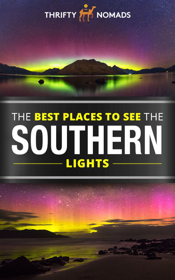 The Southern Lights are a lesser known natural attraction of the southern hemisphere. Here's how to chase this epic nature display for yourself! #southernlights #auroraaustralis