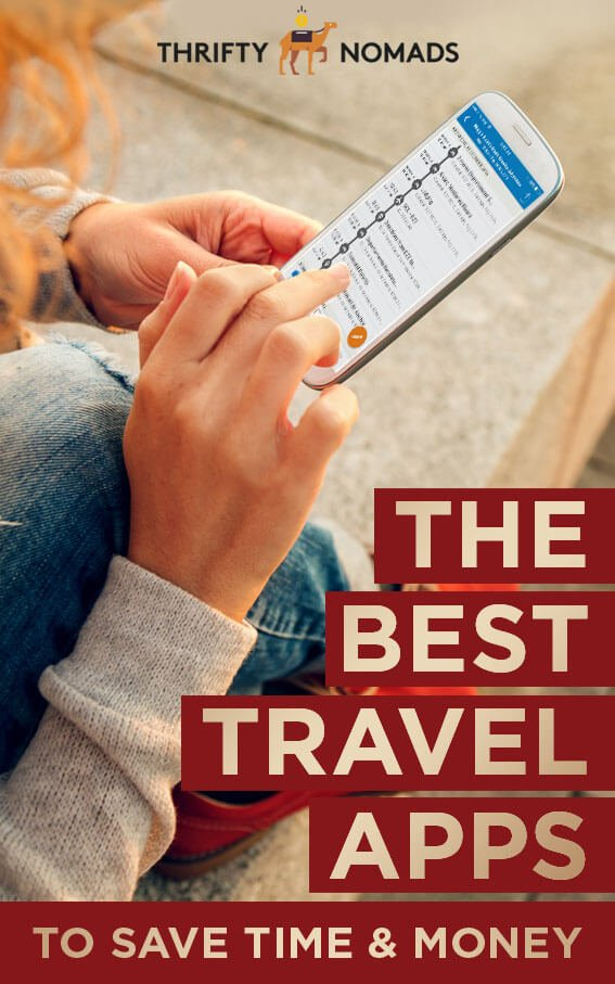 The best apps for travel around the world to save you money & time anywhere. #travelapps #travelhacks #budgettravel #traveltips