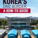 How to Visit North Korea's DMZ Border